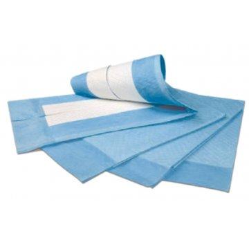 Resguardo Absorvente Azul Descartável 80x180 Emb. 25